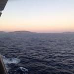 zonsopgang bij Mykonos