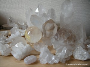 Bergkristallen wereld